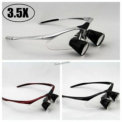 High End 3.5x Dental Loupes Binocular Medical Loupe Surgical Magnifier Glass Ttl