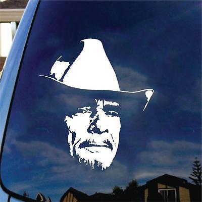 Merle Haggard Vinyl Decal Car Sticker Classic Country Music Gold Legend Folk