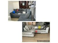 BRAND NEW CORNER SOFAS ON OFFER. £299 EACH. IMMEDIATE DELIVERY AVAILABLE