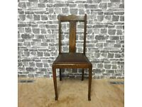 Dark Brown Vintage Chair