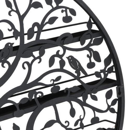 New 5 Tier Metal Tree Nail Polish Display Wall Rack Organizer Stand Holder Health & Beauty