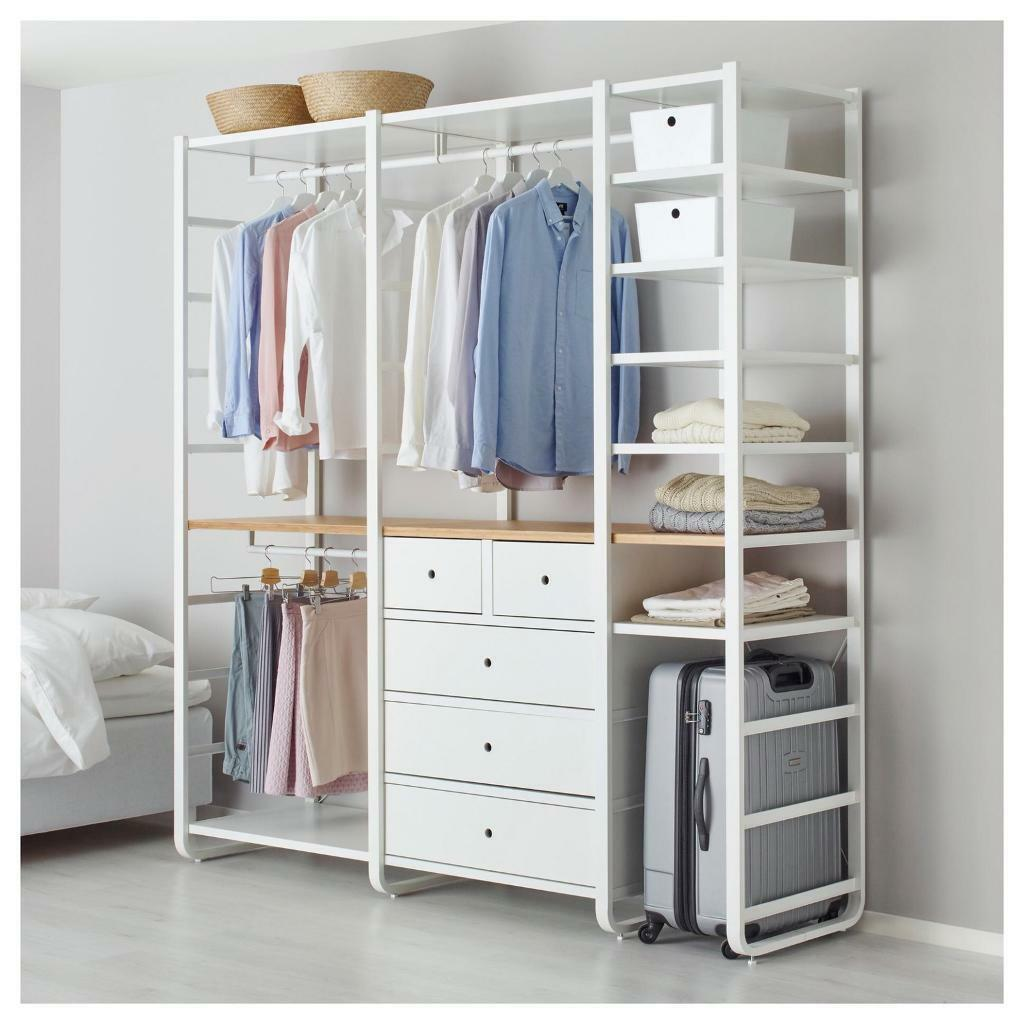 Open Wardrobe With Drawers And Hanging Space Modular In