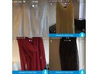 Bundle of size 14-16 clothes