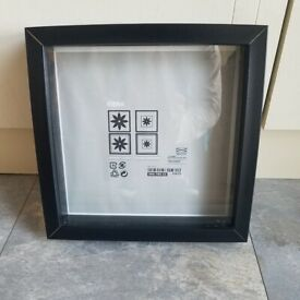 Black box photo frame. New £1.5