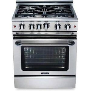 Capital MCR305N Precision Series 30 Manual Clean Gas Range