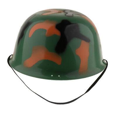 Army Herren Camouflage Helm Rollenspiel Soldat Kostüm für Kinder - Army Kostüm Für Herren