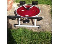 AB pro circle exercise machine