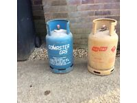 Spare gas bottle