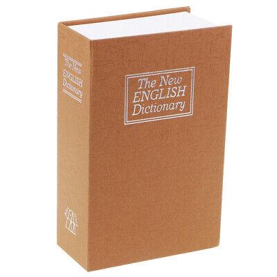 libro seguro con cerradura libro hucha mini dinero almacenamiento