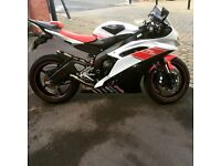 Yamaha R6, Low milage 58/2009