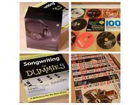 Music Production Publications , KS Headphones , Vocal performance DVD & Songwriting Aid Bundle !!