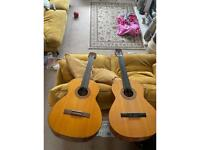 Pair of guitars - will sell individually equal price