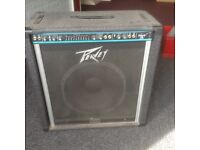 Peavey bass amplifier. Absolute bargain at £60.