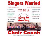Singer to be Choir coach