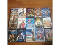 Job lot of 15 kids DVDs