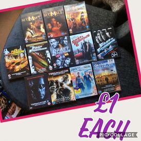 Lots of DVDs £50