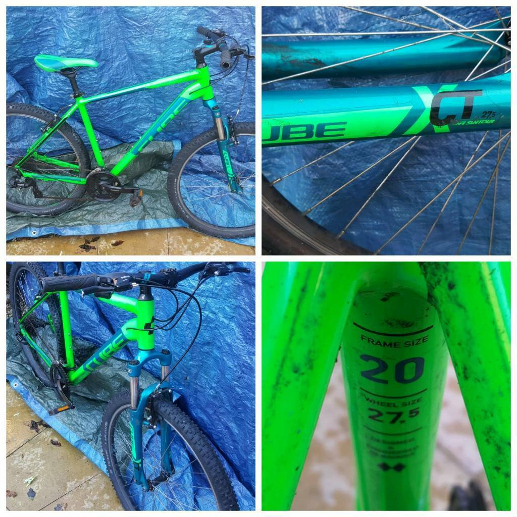 Cube mens mountain bike 20inch frame can deliver
