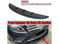 Universal Front Bumper Lip, Body Kit, Spoiler / Splitter