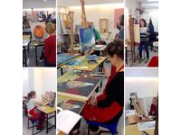 art CLASS- Drawing and Painting Courses