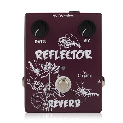 Caline CP-44 Reflector Reverb Guitar Effects Pedal