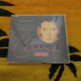 Celine Dion CD Single 1994 Think Twice
