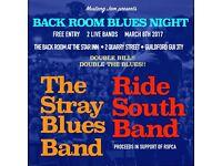 Back Room Blues Night