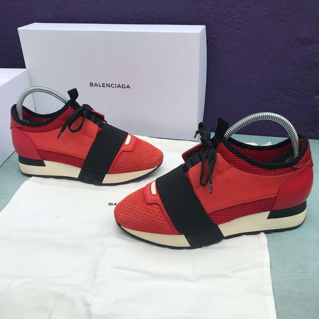 wholesale outlet buy best really cheap Balenciaga race runner trainers size 3 | in Newham, London | Gumtree