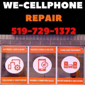 WE-REPAIR- IPHONE - SAMSUNG -BLACKBERRY - LG - HUAWEI- SONY-  299 Northfield Dr East Waterloo