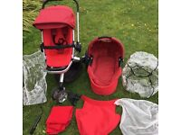Quinn's Buzz stroller and carrycot set for sale
