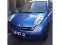 NISSAN MICRA 1.2 SE 5dr( HPI CLEAR+WARRANTED MILEAGE+LONG MOT+SUPERB GEAR BOX+LOW PRICE TO CLEAR)