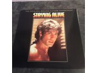 Staying Alive- The Original Motion Picture Soundtrack- Vinyl LP 1983