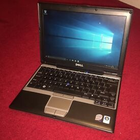 "Windows 10 Dell Latitude D430 Core 2 DUO 12"" 1.33GHz, 2GB RAM, 60GB HDD, DVD-RW"