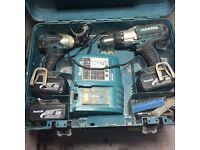 Makita 18 volt combo set