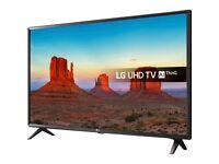 """LG 43UK6300PLB 43"""" UHD HDR Smart LED TV - Boxed, Unopened"""
