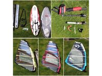 Complete windsurfing kit for sale
