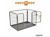 Heavy Duty Cozy Pet Puppy Dog Cage - perfect condition!