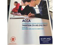 Acca F6 Taxation valid until March 2019
