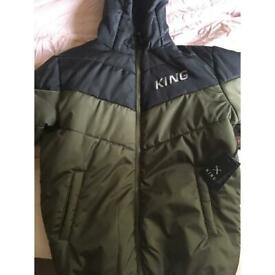 King jacket with tag