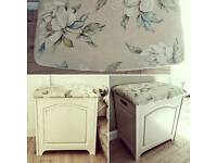 Laura Ashley Storage Ottoman shabby chic
