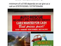 all cars wanted cash within the hour