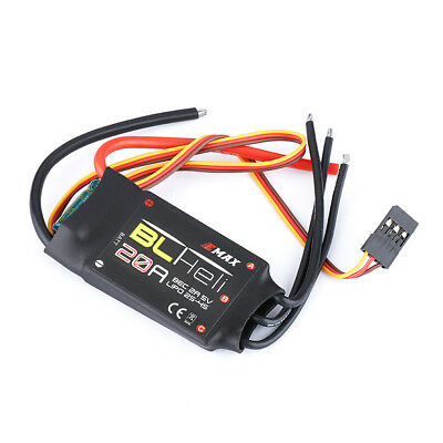 EMAX 20A BLHeli Brushless ESC 2-4S Speed Controller Quadcopter Drone RC FPV 20 A