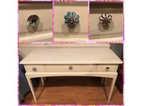 Annie Sloan original white stag minstrel console hall dressing table