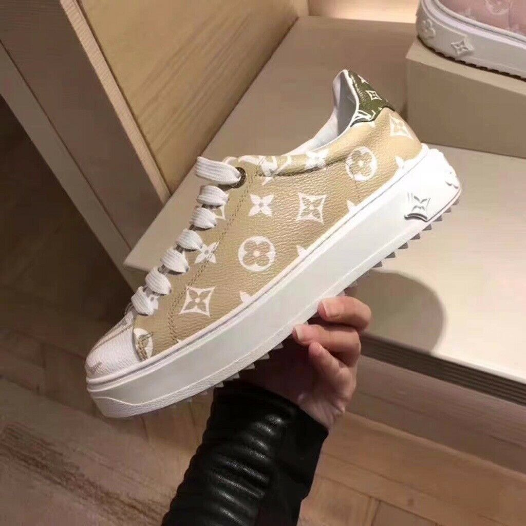 616d402142f Louis Vuitton Time Out sneaker in patent Monogram canvas   in West End,  London   Gumtree