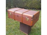 Vintage/Antique cabin trunk for sale  Bromham, Bedfordshire