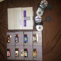 Looking to sell my super Nintendo