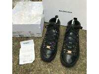 Balenciaga high top trainers size 4/37