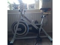 Confidence exercise spinning bike