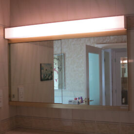 Bathroom Illuminated (Top Quality) Cabinet. 7 MOveable Shelves & 5 Trays.