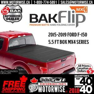 BAKFlip MX4 5.5 ft Hard Folding Tonneau Cover for 2015-2019 Ford F-150 | Free Shipping | Brand New with Full Warranty