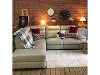 Harveys Sorento Leather Corner Sofa